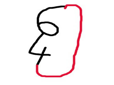 Seis y cuatro tu retrato