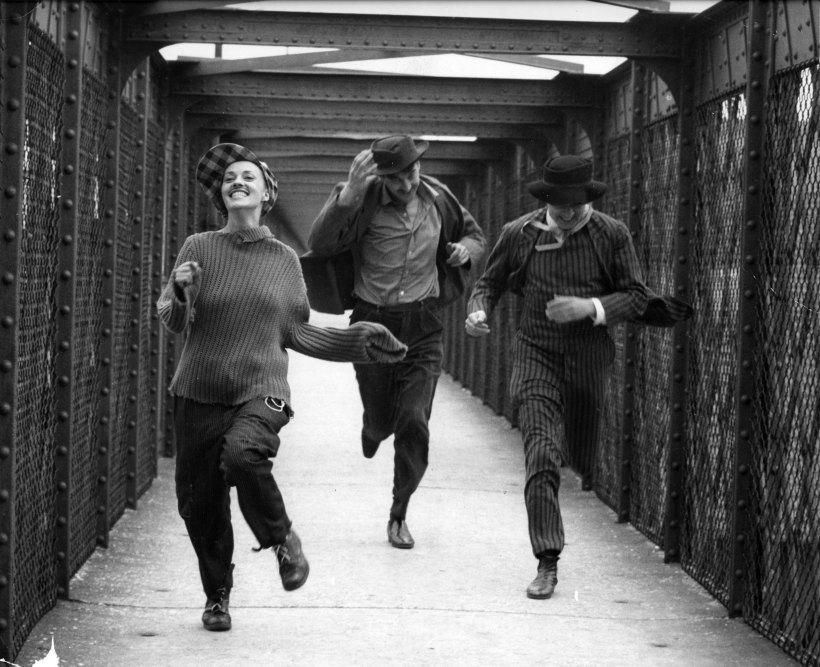 Fotograma de la película de Truffaut, Jules et Jim.