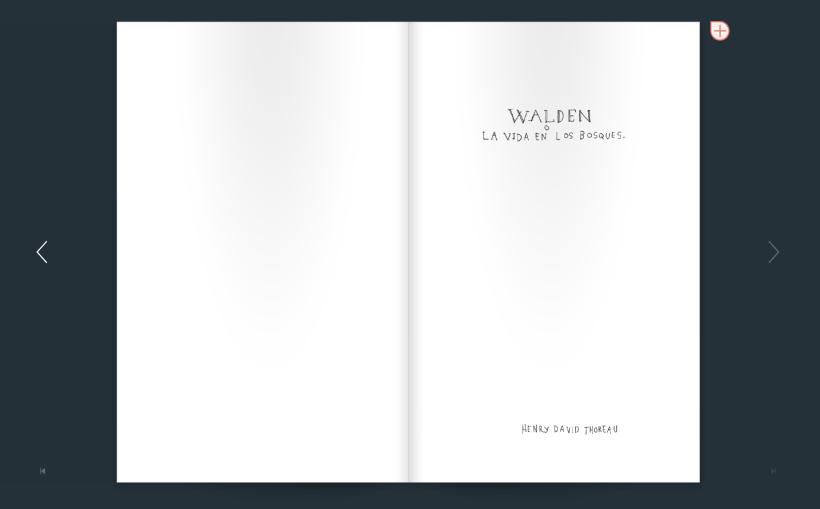 Walden o la vida en los bosques de Thoreau. Transcripción a mano de kevin Simón Mancera