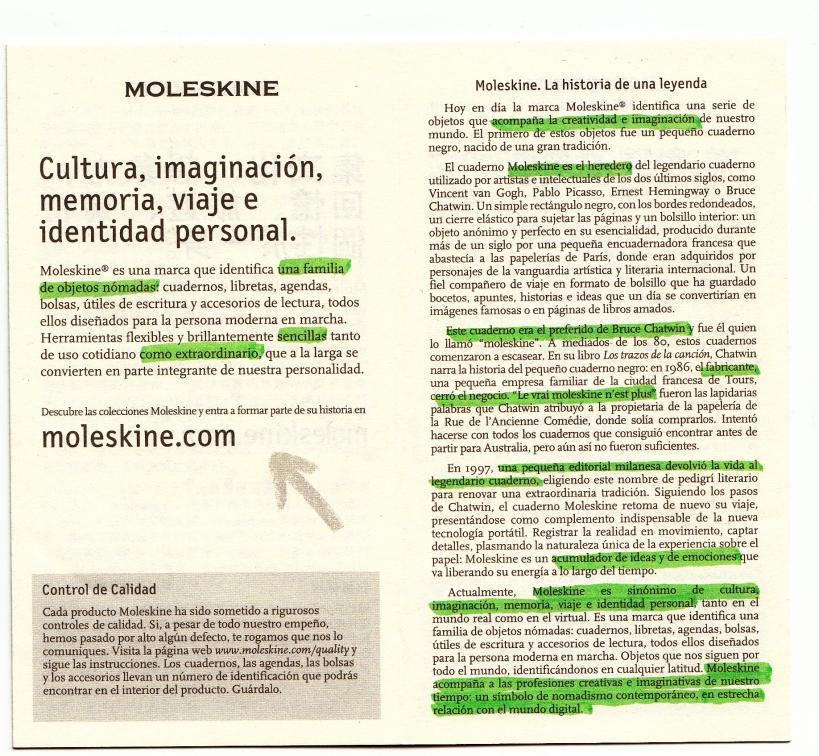 Moleskine, la historia de los cuadernos para artistas.