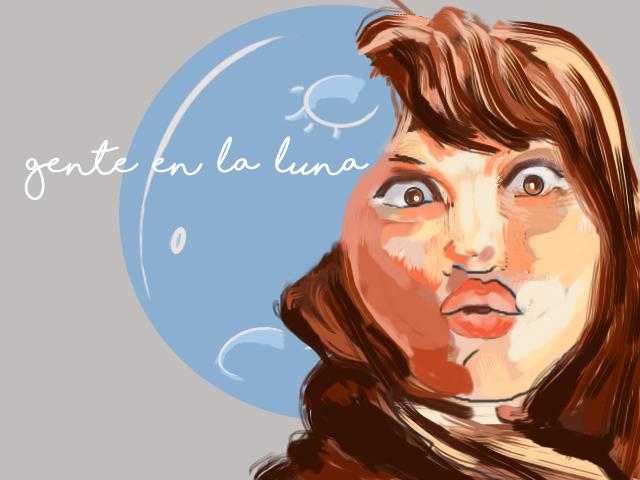 Retrato María Luna